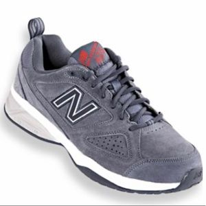 New Balance Gray Sueded 623 Cross Trainers 13EEEE